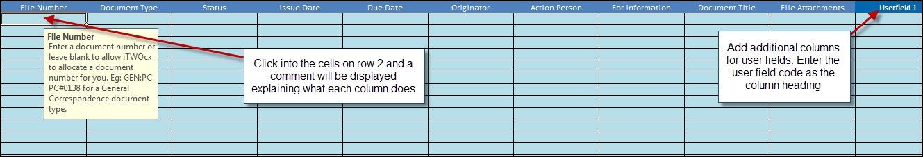 correspondence log template excel