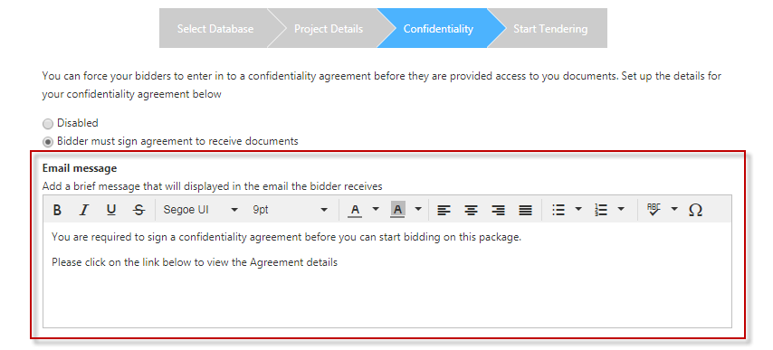 Issuing A Confidentiality Agreement Itwocx Knowledge Base Itwocx